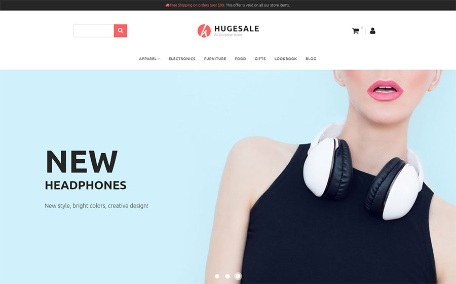 Wholesale Store Responsive MotoCMS Ecommerce Template